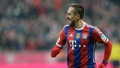 El extremo francés marcó el único gol del encuentro en Múnich.