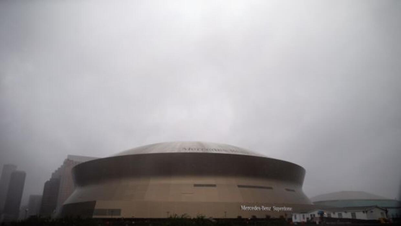 Isaac no causó daños al Estadio de los Saints.