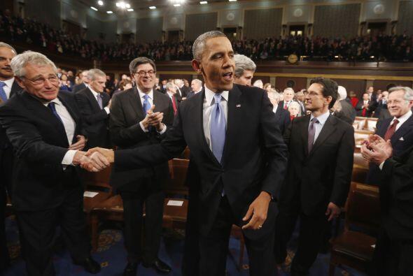 Aunque Obama no se refirió a la obtención de la ciudadan&i...