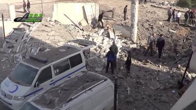 Imagen captada por la televisión de un atentado en Turquía