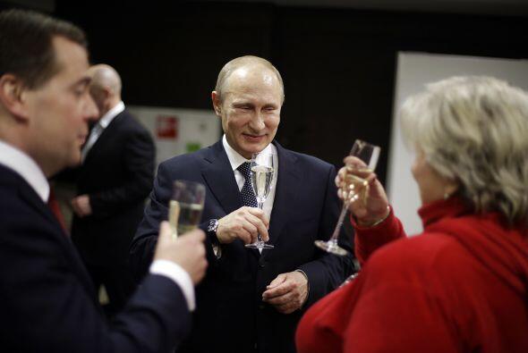 El presidente ruso, Vladímir Putin, acaparó todos los honores durante lo...