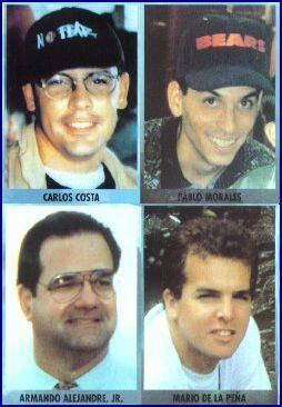 Armando, Carlos, Mario y Pablo No olvidaremos.  Este trabajo recopila in...