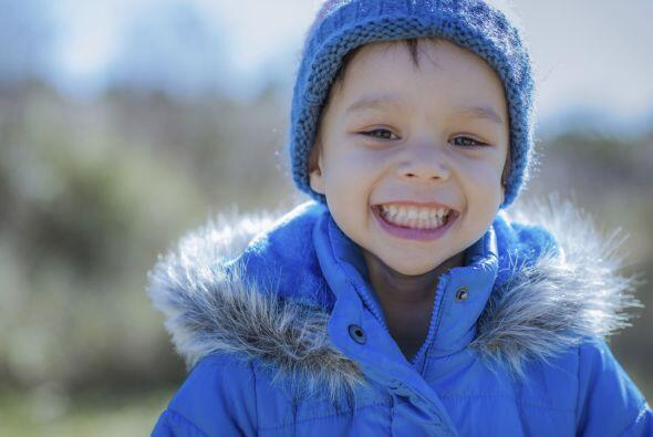 Un abrigo aislante. Para que tus niños puedan jugar en la nieve sin moja...
