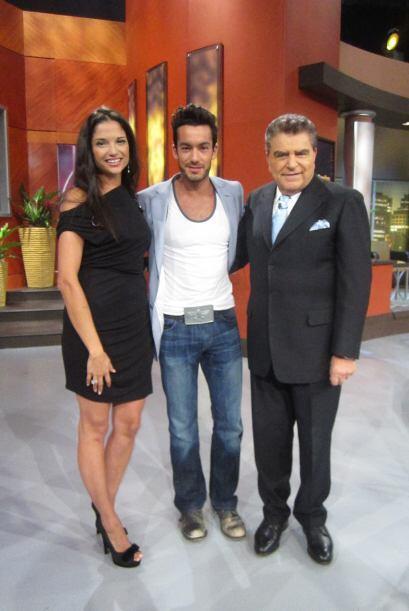 El show de Don Francisco se llena de talento con la visita de Aarón Díaz...