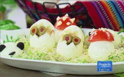 Celebrando el día del huevo con recetas divertidas del chef Pepin