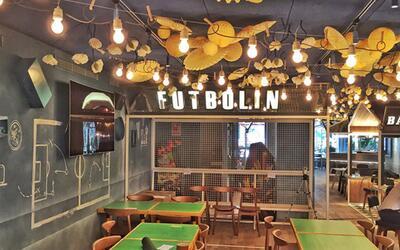 Así es el restaurante Bellavista del Jardín del Norte de los Messi.