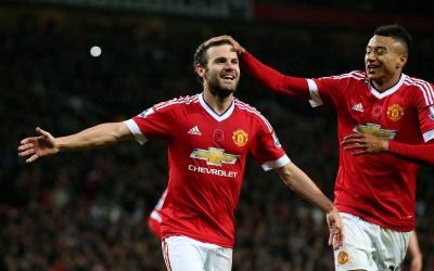 Juan Mata marcó el segundo gol del United