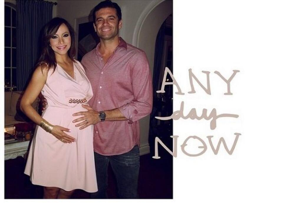 """""""#latergram Date night with my husband while we wait for our little one..."""