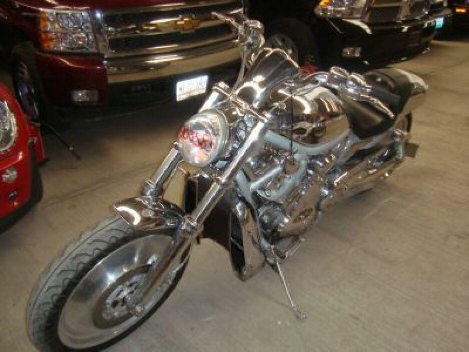 Motocicleta Heavy Weight, modelo 2003.  (Foto: Cortesía SAE)