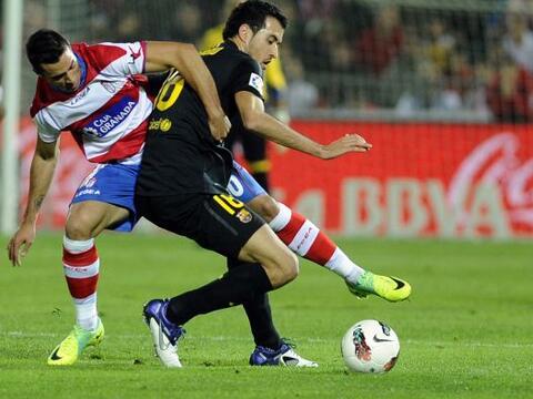La fecha 10 de la Liga española arrancó con el Barcelona e...