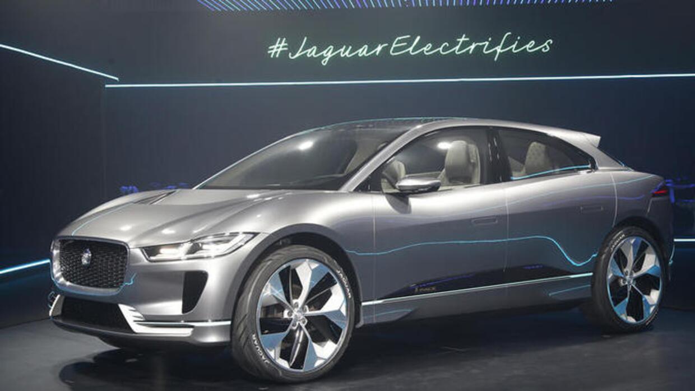 Jaguar I-Pace Concept es develado durante el LA Auto Show 2016
