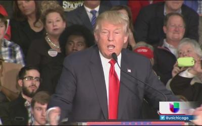 Donald Trump realiza rally en Springfield