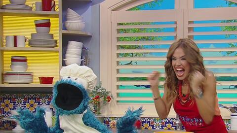 Receta de galletas con chocolate al estilo único de Cookie Monster