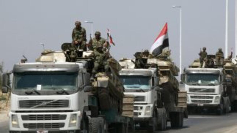 Tropas del ejército sirio controlan la totalidad del país para frenar la...