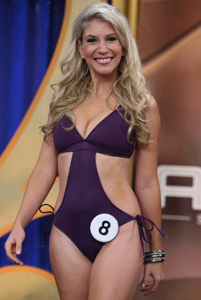 Brasil trajo su sabor brasilero a la final del Miss República Dep...