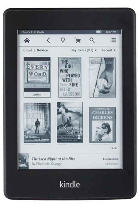 14. Lectores de libros electrónicos  - Amazon Kindle Paperwhite con ofer...