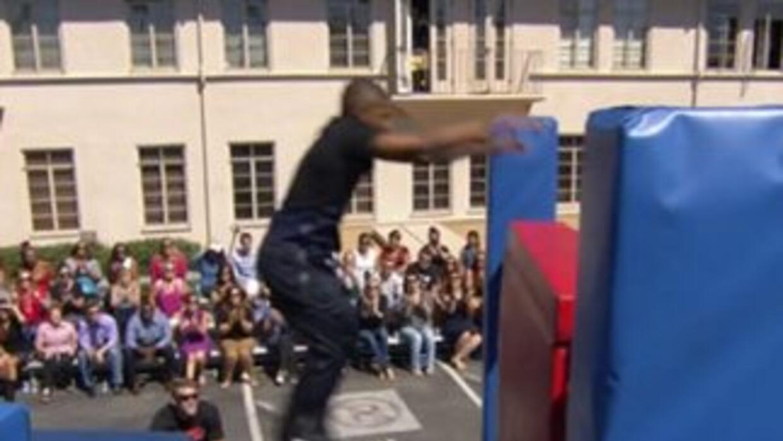 Usher Ninja Warrior
