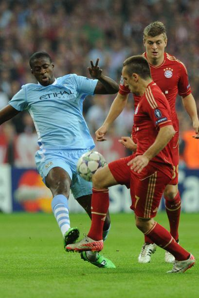 El Bayer Munich jugó ante el Manchester City y le propinó...