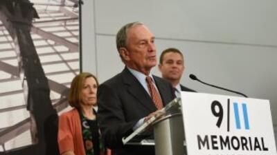 El exalcalde de Nueva York Michael Bloomberg presentó hoy el museo de la...