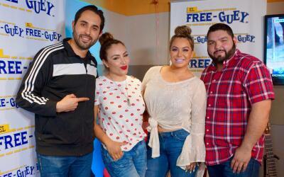 Chiquis Rivera en el Free-guey