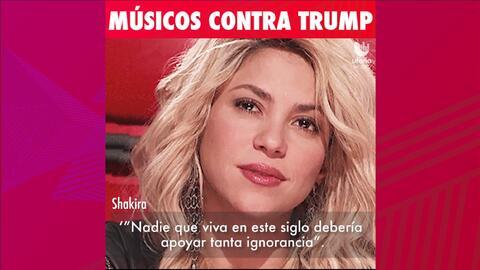 Músicos expresan su disgusto con Donald Trump