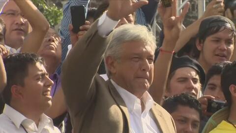 La ciudad de Chicago recibe a Andrés Manuel López Obrador