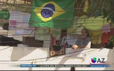 El mundial se siente en las favelas