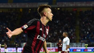 El Milan derrotó 3- al Torino y es décimo en la Serie A.