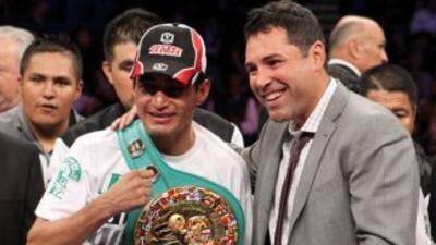 Morales, de 36 años, alcanzó los campeonatos en las categorías súper gal...