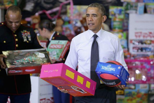 Entre los juguetes se podía observar que había una gran variedad para ni...