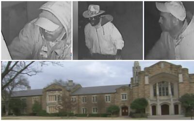 Identifican a sospechosos por el incendio en una iglesia de Forth Worth