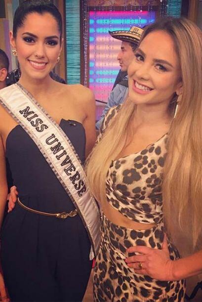 """""""Muy orgullosa y feliz por que mi Colombia tiene la corona de Miss Unive..."""