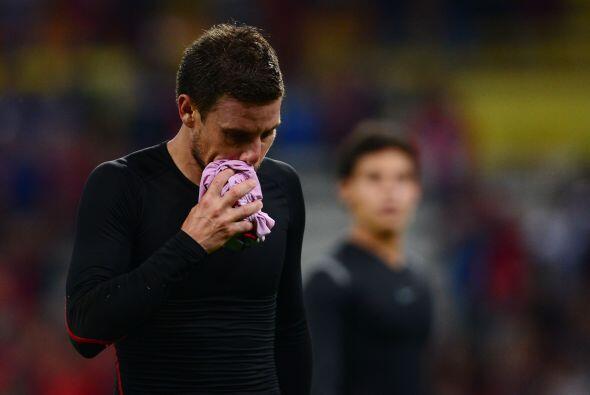 El naturalizado Lucas Ayala protagonizó un pleito verbal con el técnico...