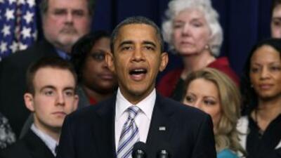 El pueblo estadounidense no tiene paciencia para un atasco, dijo Obama.