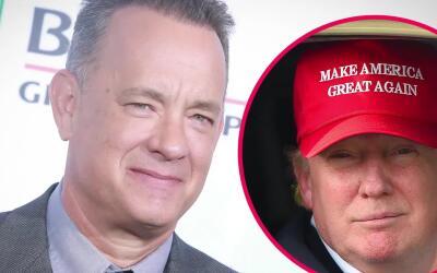 Tom Hanks critica a Donald Trump por sus comentarios misóginos
