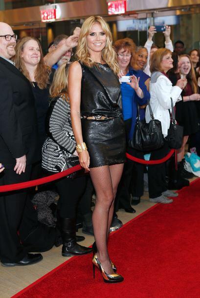 La 'top model' Heidi Klum es una mujer que cautiva a la cámara si...