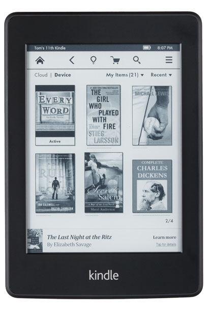 14. Lectores de libros electrónicos  - Amazon Kindle Paperwhite c...