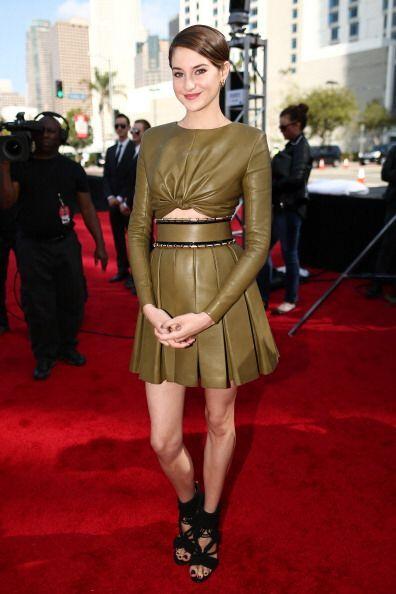 La actriz Shailene Woodley demostró ser toda una gurú del estilo con su...