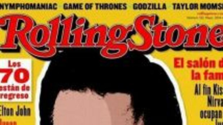 La portada de la revista Rolling Stone del mes de mayo. (Imagen tomada d...