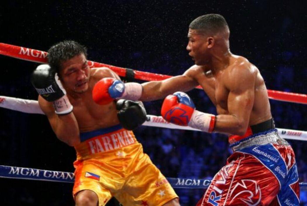 Enfrente Yuriorkis Gamboa tuvo al filipino Michael Farenas, que resultó...