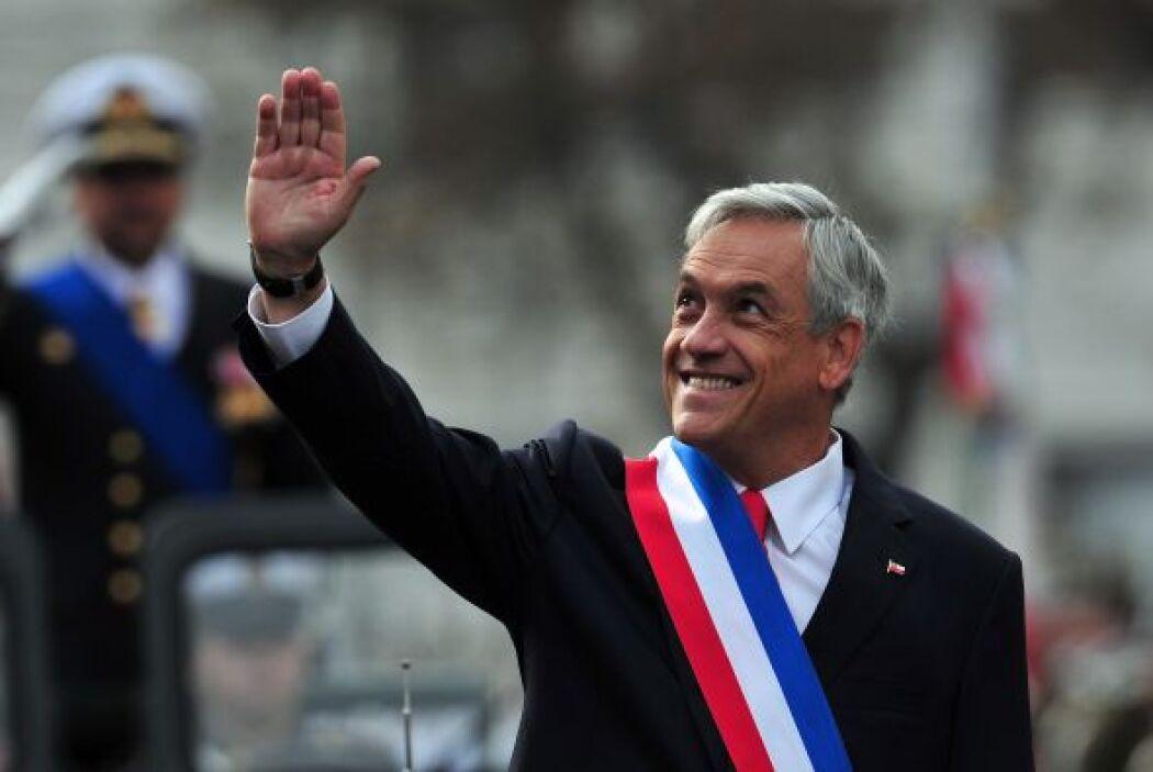 El presidente chileno, Sebastián Piñera, entregó este sábado su segundo...