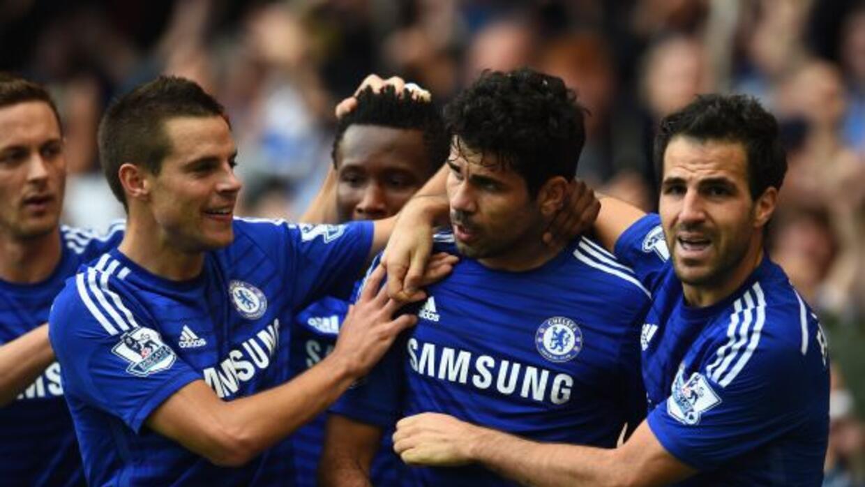 El hispanobrasileño Costa hizo un golazo para firmar el 2-0 con el que l...