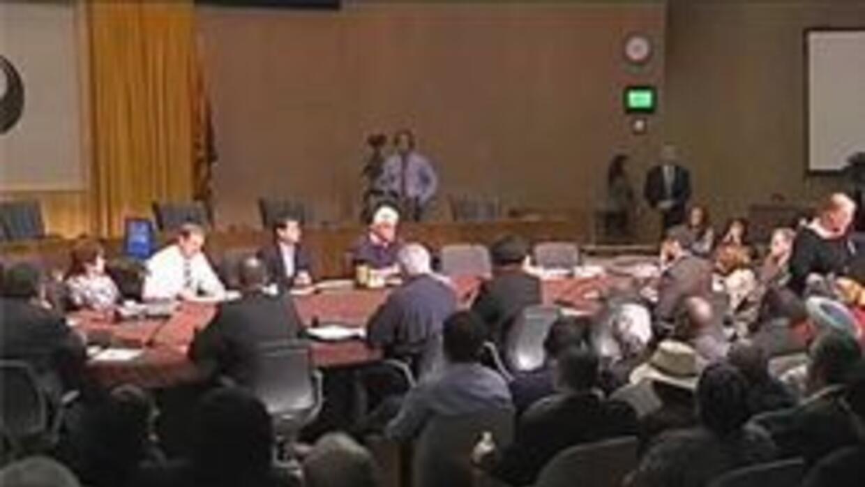 Junta de concilio en Phoenix esta mañana