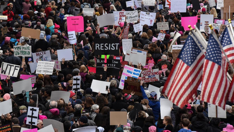 Chicago fue una de las ciudades con más participación en la marcha de la...