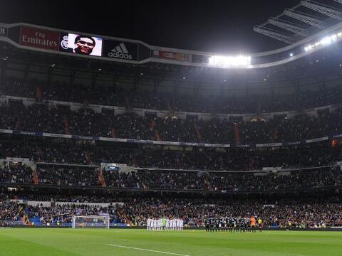 El fútbol de la Liga española volvía al estadio San...