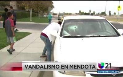 Vandalismo en Mendota