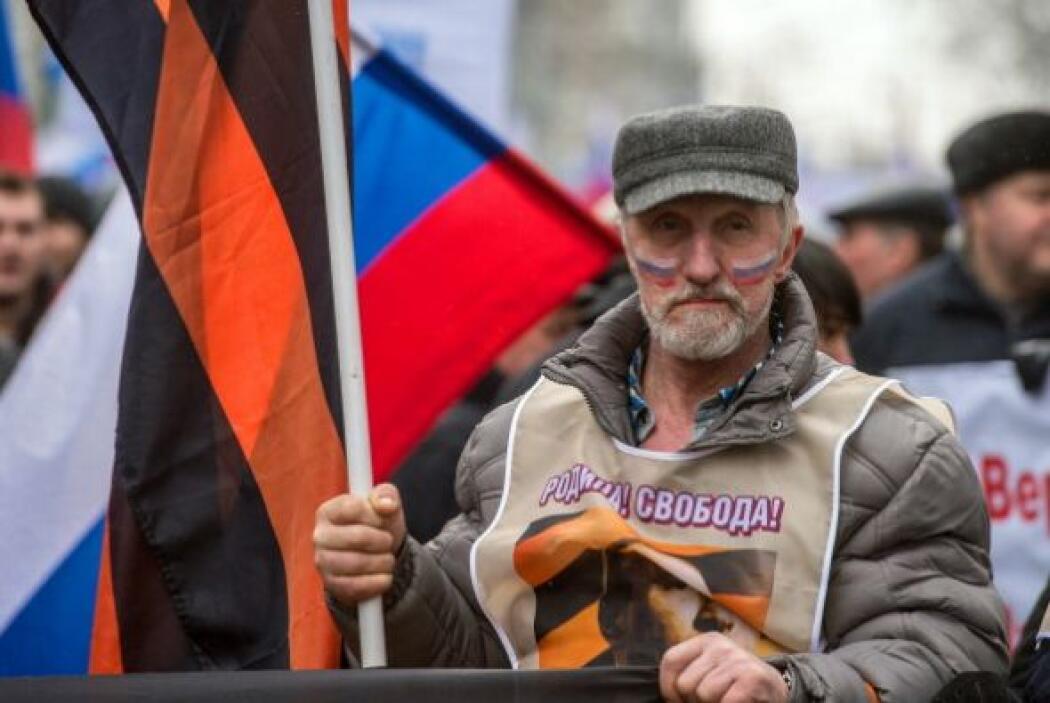 Crimea es una aislada península en el mar Negro donde la mayoría de su p...