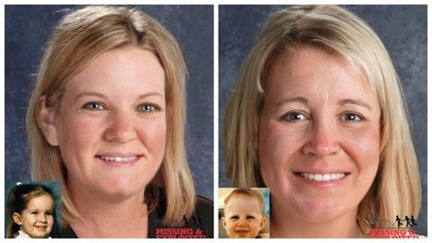 Kelly Yates, de 35 años, y Kimberly Yates, de 32 años, fue...