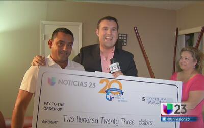 ¡Conoce al último ganador de '23 mil gracias'!