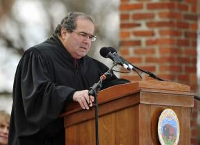 Una imagen de Antonin Scalia que data de 2013.